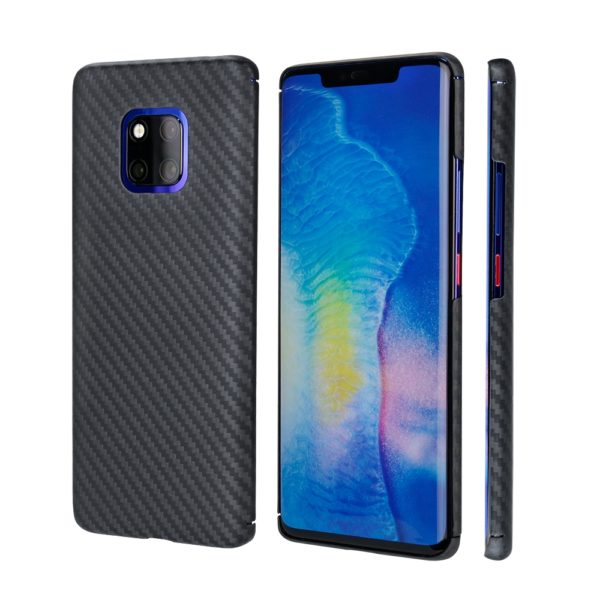 Husa Huawei Mate 20 Pro, Kevlar, full size protection, wireless charging - Underline
