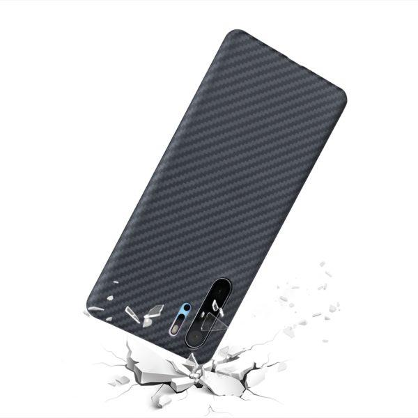Husa de protectie pentru Huawei P30 Pro, Kevlar, suporta wireless charging - Underline