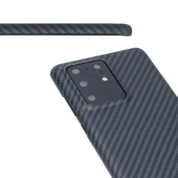 Husa Samsung Galaxy S20 Ultra, Kevlar, full size protection, wireless charging - Underline