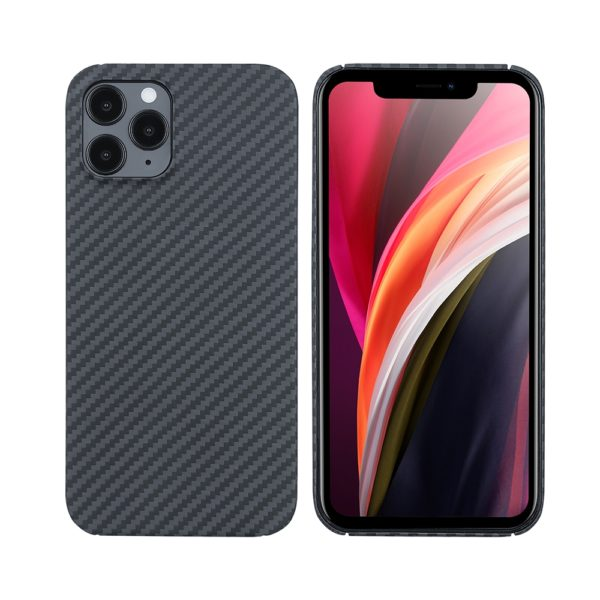 Husa iPhone 12 Pro, Kevlar, full size protection, wireless charging - Underline
