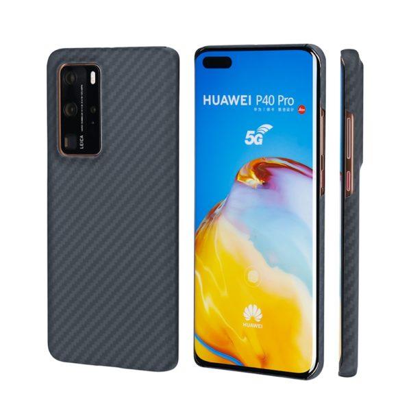 Husa Huawei P40 Pro, Kevlar, full size protection, wireless charging - Underline