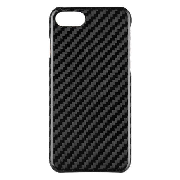 Husa iPhone 7/8, fibra de carbon, full size protection, wireless charging - Underline