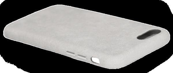 Husa iPhone 7/8, Alcantara, wireless charging - Underline