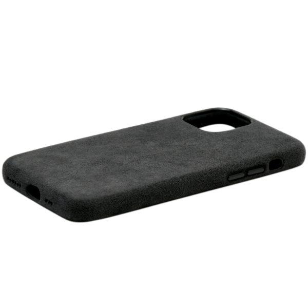 Husa iPhone 11 Pro, Alcantara, full size protection, wireless charging - Underline