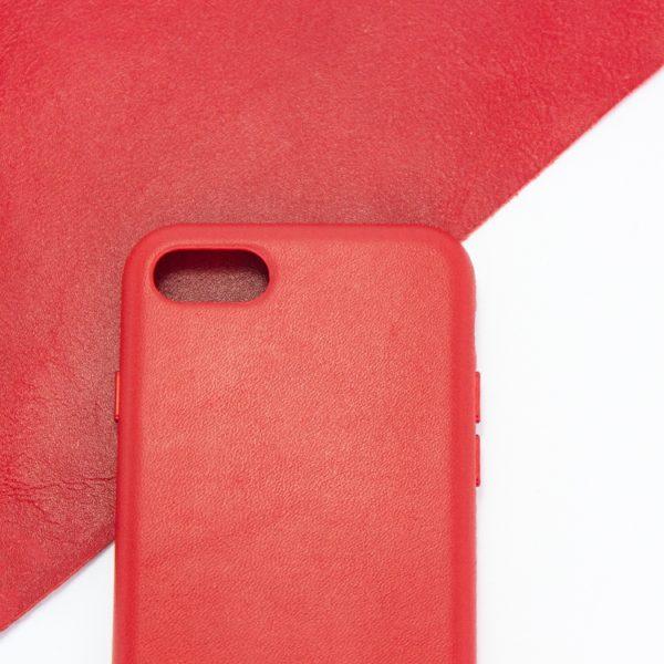 Husa de protectie pentru iPhone 7/8, piele naturala, suporta wireless charging - Underline