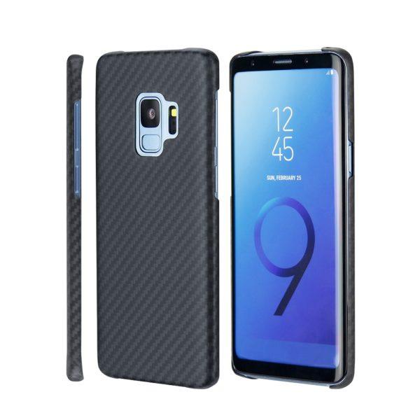 Husa Samsung Galaxy S9, Kevlar, full size protection, wireless charging - Underline
