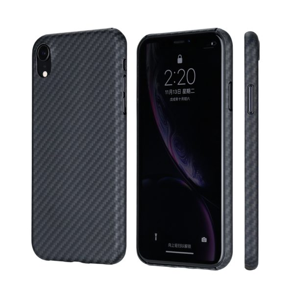 Husa iPhone Xr, Kevlar, full size protection, wireless charging - Underline