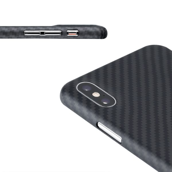 Husa iPhone Xs Max, Kevlar, full size protection, wireless charging - Underline