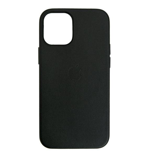 Husa de protectie pentru iPhone 12 Mini, piele naturala, MagSafe, suporta wireless charging - Underline