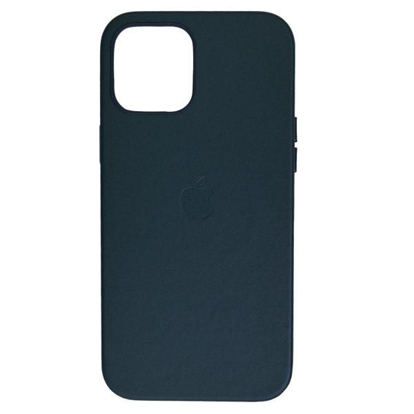 Husa de protectie pentru iPhone 12 Pro Max, piele naturala, MagSafe, suporta wireless charging - Underline