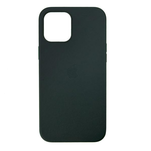 Husa de protectie pentru iPhone 12 Pro, piele naturala, MagSafe, suporta wireless charging - Underline