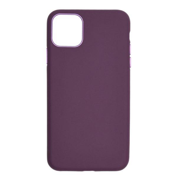 Husa iPhone 11 Pro Max, piele Nappa naturala, full size protection, wireless charging - Underline