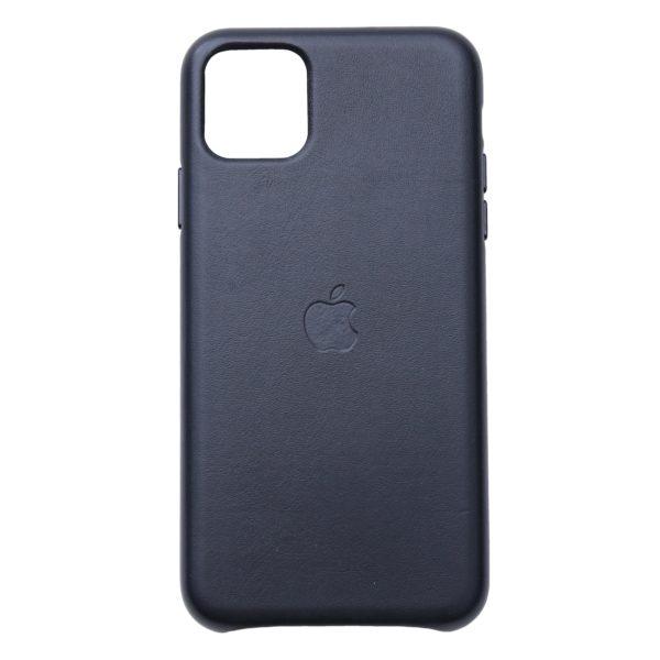 Husa de protectie pentru iPhone 11 Pro Max, piele naturala, suporta wireless charging - Underline