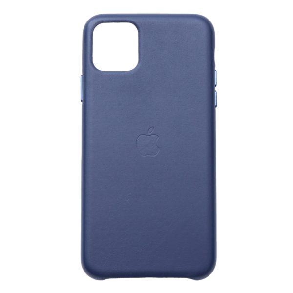 Husa de protectie pentru iPhone 11, piele naturala, suporta wireless charging - Underline