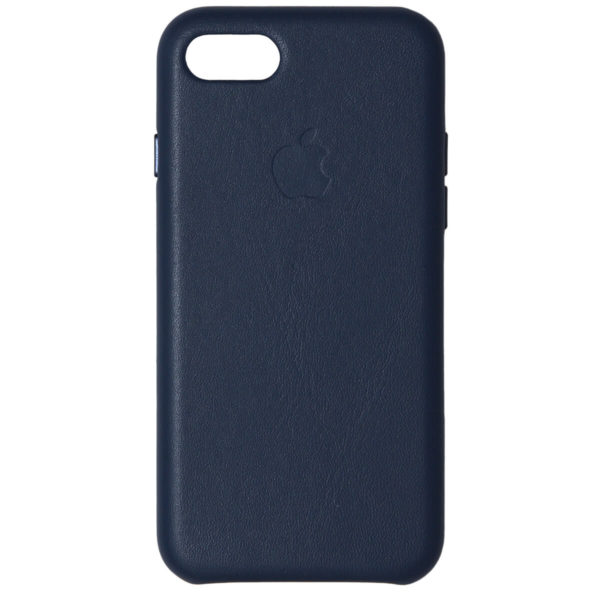 Husa de protectie pentru iPhone 7/8 Plus, piele naturala, suporta wireless charging - Underline
