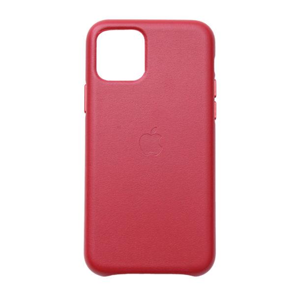 Husa de protectie pentru iPhone 11 Pro, piele naturala, suporta wireless charging - Underline