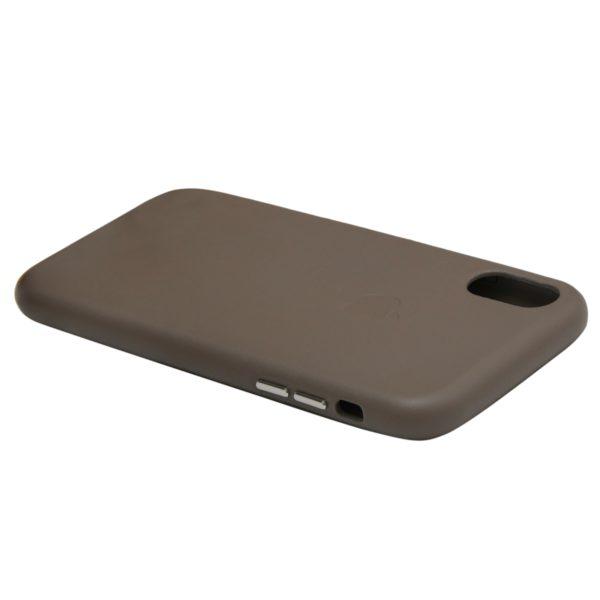Husa de protectie pentru iPhone Xr, piele naturala, suporta wireless charging - Underline