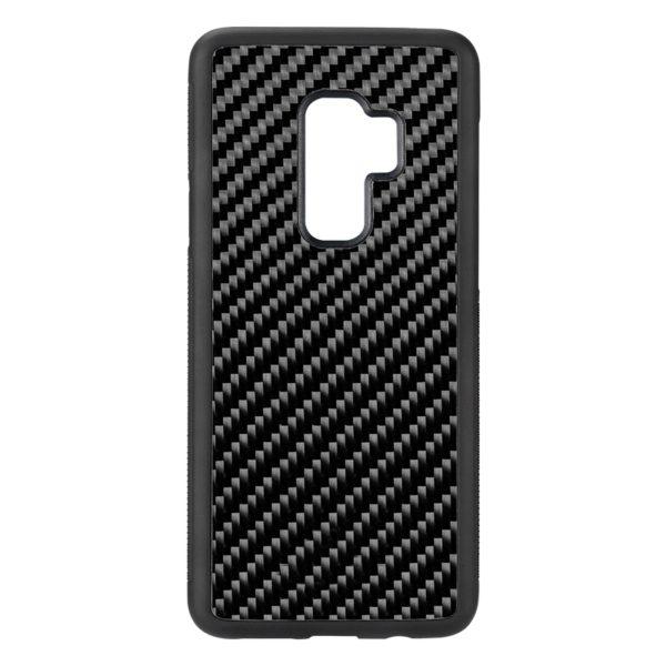 Husa Samsung Galaxy S9 Plus, fibra de carbon, anti slide, full size protection, wireless charging - Underline