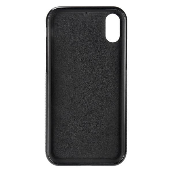 Husa iPhone Xr, fibra de carbon, anti slide, full size protection, wireless charging - Underline