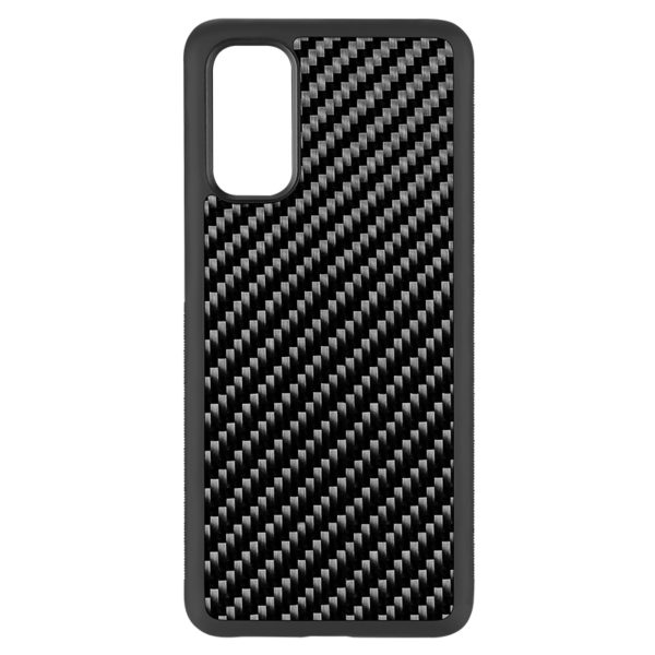 Husa Samsung Galaxy S20, fibra de carbon, anti slide, full size protection, wireless charging - Underline