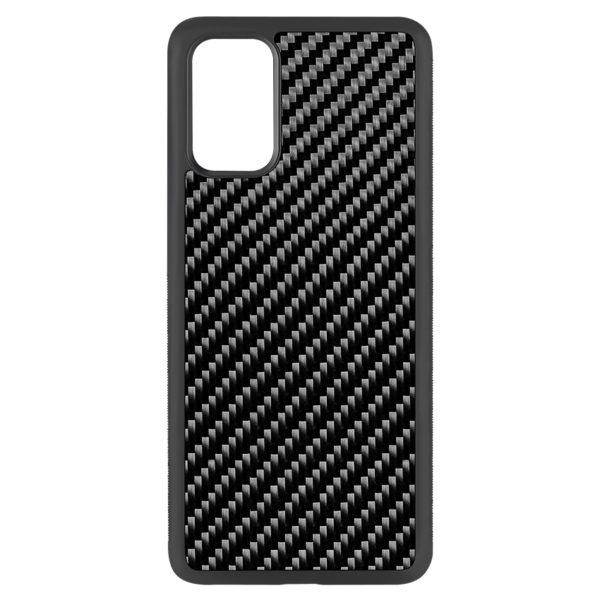 Husa Samsung Galaxy S20 Plus, fibra de carbon, anti slide, full size protection, wireless charging - Underline