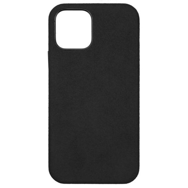 Husa iPhone 12 Pro Max, Alcantara, Magsafe, full size protection, wireless charging - Underline