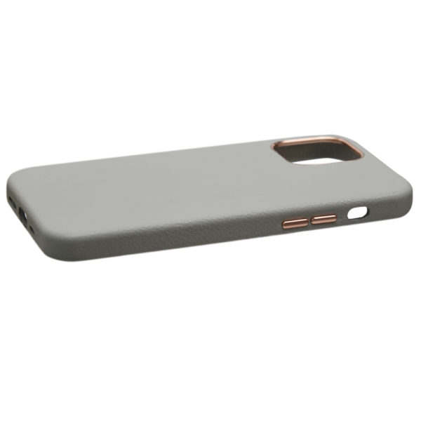 Husa iPhone 12 Pro Max, piele naturala Lychee, Magsafe, full size protection, wireless charging - Underline