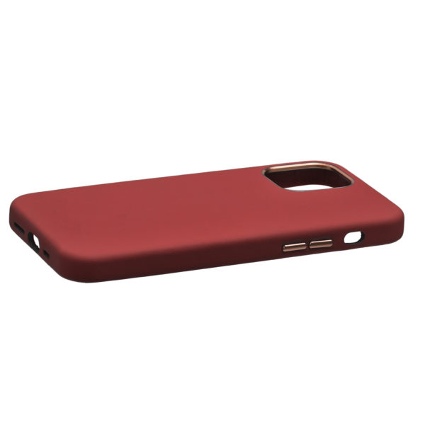 Husa iPhone 12 Pro Max, piele naturala Nappa, Magsafe, full size protection, wireless charging - Underline