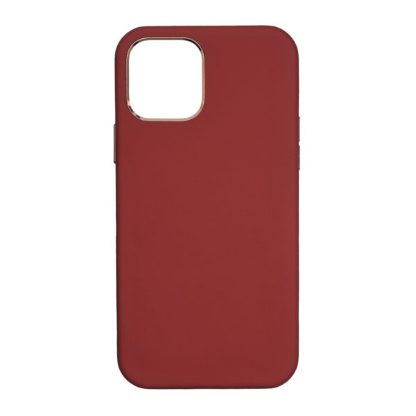 Husa iPhone 12 Mini, piele naturala Nappa, Magsafe, full size protection, wireless charging - Underline