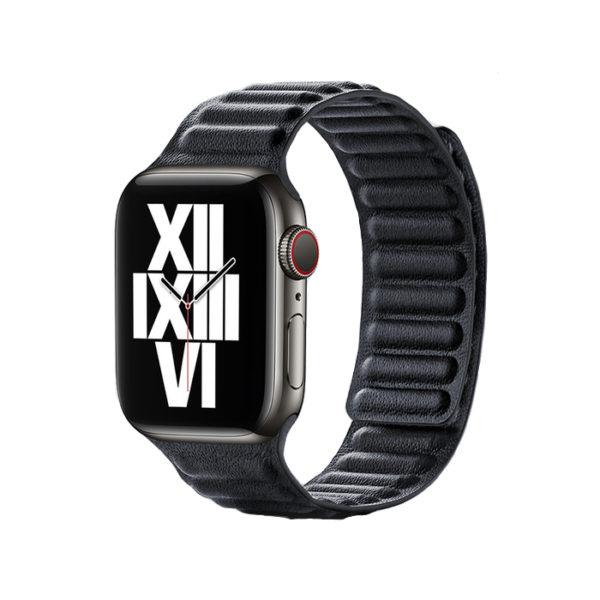 Curea pentru Apple Watch, piele naturala Nappa, prindere magnetica, 40mm - Underline